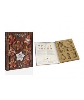 Set formine biscotto in acciaio inossidabile di Andrea House- tema natalizio